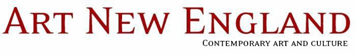 Art New England Magazine logo; red, white
