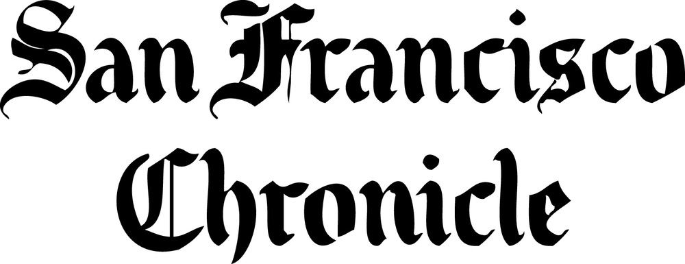 San Francisco Chronicle logo; black, white