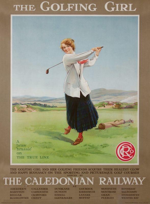 120 Vintage Railway Art Poster Rothsay